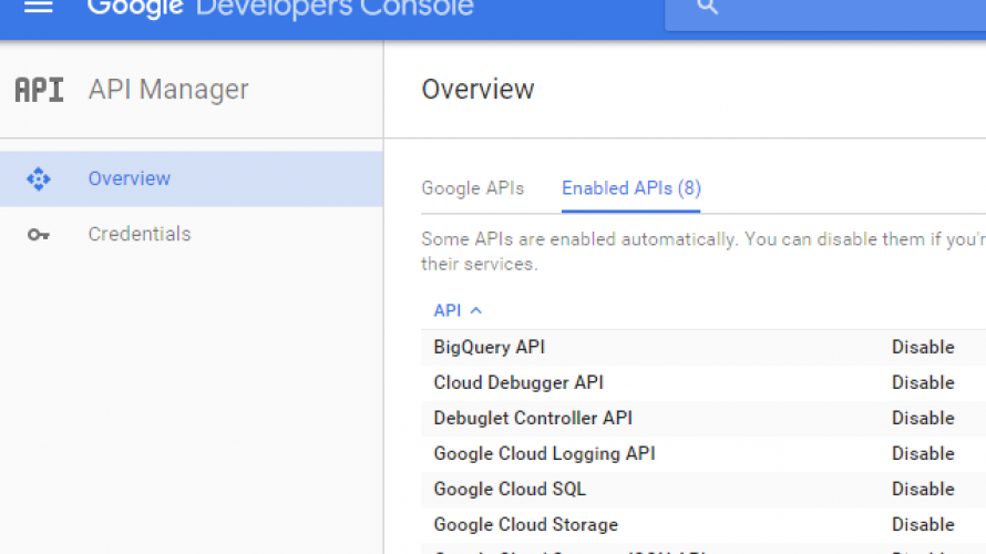 Used Google APIs – only added Tasks API