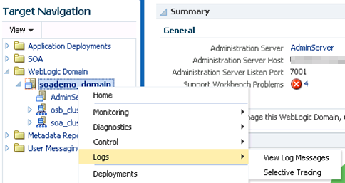 Oracle Fusion Middleware 12c – selective tracing - Qualogy
