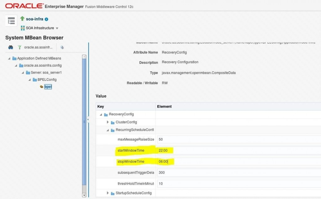 Oracle SOA Suite 12c – BPEL: tuning a domain and improving