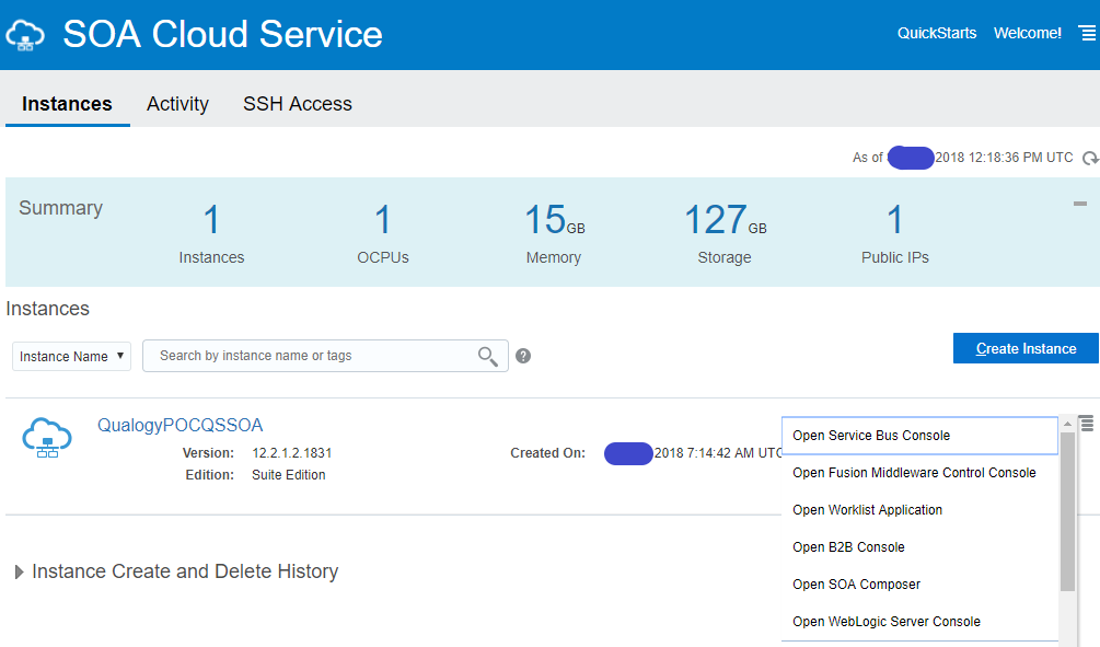Lessons learned: using SOA Suite Cloud Service (12 2 1 3) - Qualogy