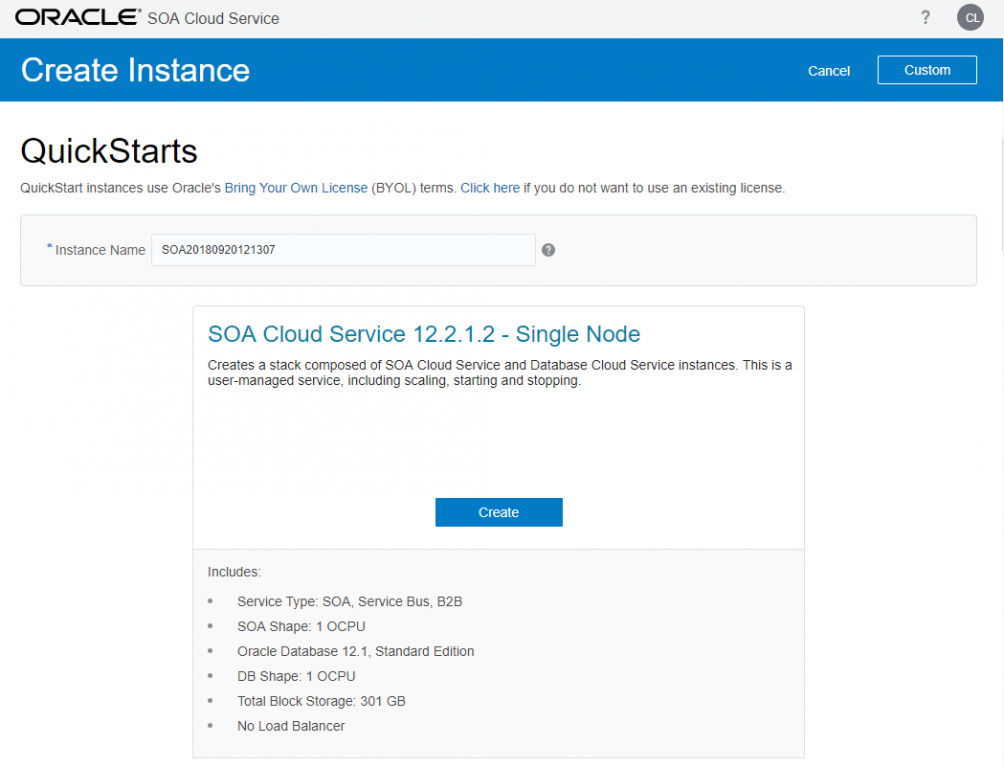 Lessons learned: using SOA Suite Cloud Service (12 2 1 3
