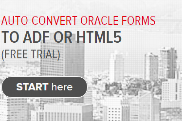 Test: converting Oracle forms to ADF with QAFE - Qualogy